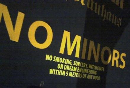 No Minors